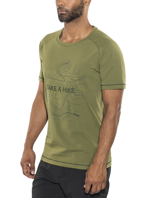 Bergans Take a Hike - T-shirt manches courtes Homme - olive